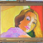 Golden Girl - bowmanoilpaintings.co.uk