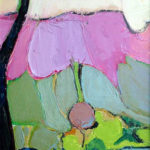 Landscape with Pink Cliff - bowmanoilpaintings.co.uk
