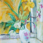Lenten Lillies - bowmanoilpaintings.co.uk