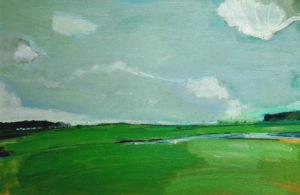 The Bright Green Heath - bowmanoilpaintings.co.uk