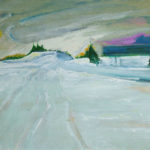 Winter Landscape - bowmanoilpaintings.co.uk
