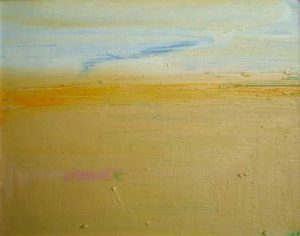 Yellow Sand and Sea - bowmanoilpaintings.co.uk