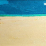 Sands of Time: Full Moon - bowmanoilpaintings.co.uk