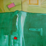The Big Green Overcoat - bowmanoilpaintings.co.uk