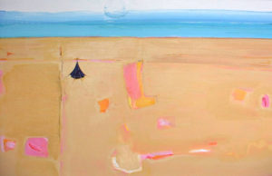 We shall not summer in that house again: Shapes in the Sand - bowmanoilpaintings.co.uk