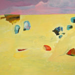 Shapes in the Sand - bowmanoilpaintings.co.uk